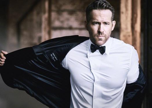 Ryan Reynolds最新代言Armani写真释出