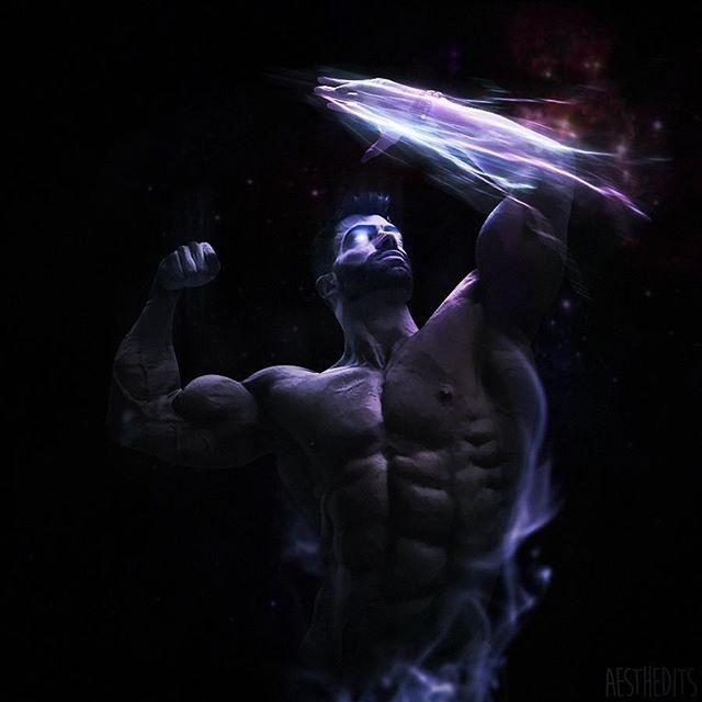 大胸肌 肌肉艺术图片  