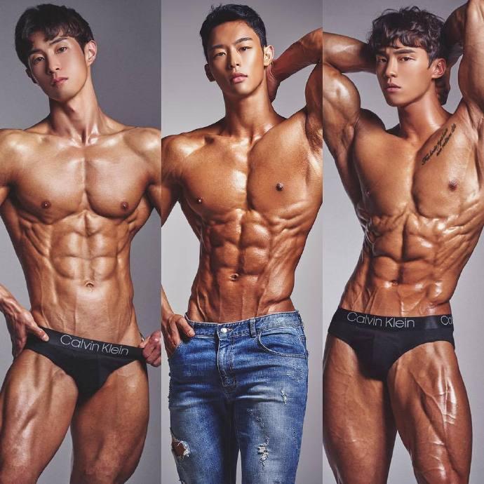 喜欢哪个肌肉帅哥照片