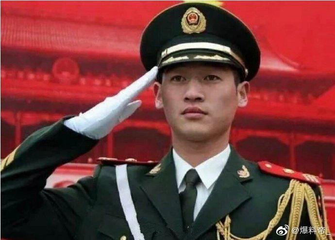 中国第一旗手最美退役军人