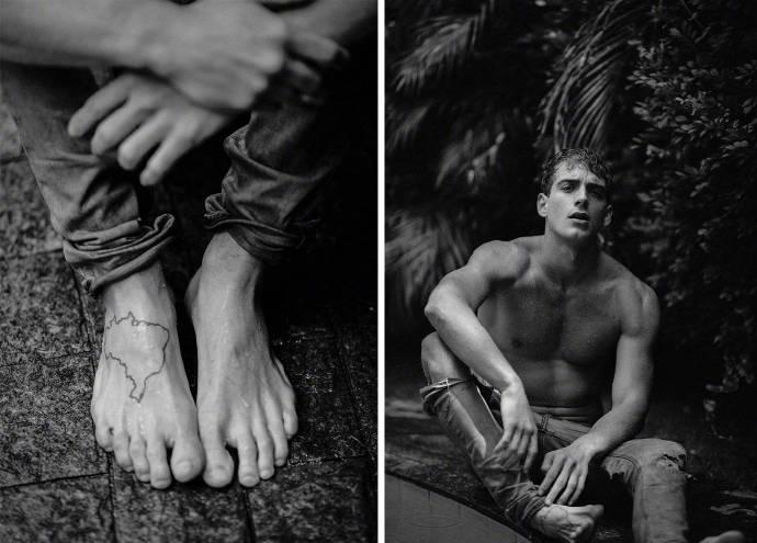 巴西男模特Eric Fraga帅哥生活照