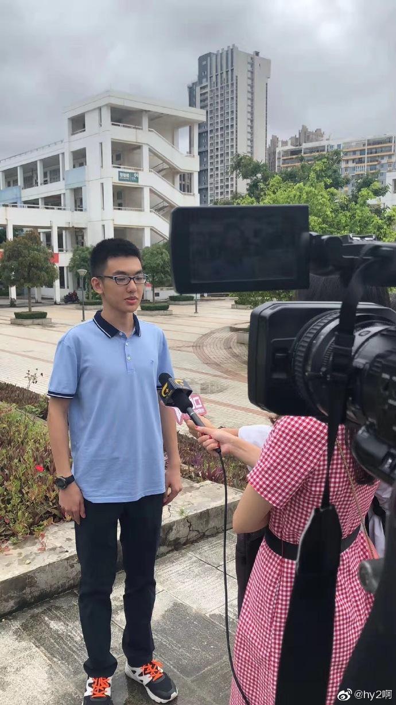 广西南宁二中杨晨煜高考以730分破广西恢复高考以来最高记录