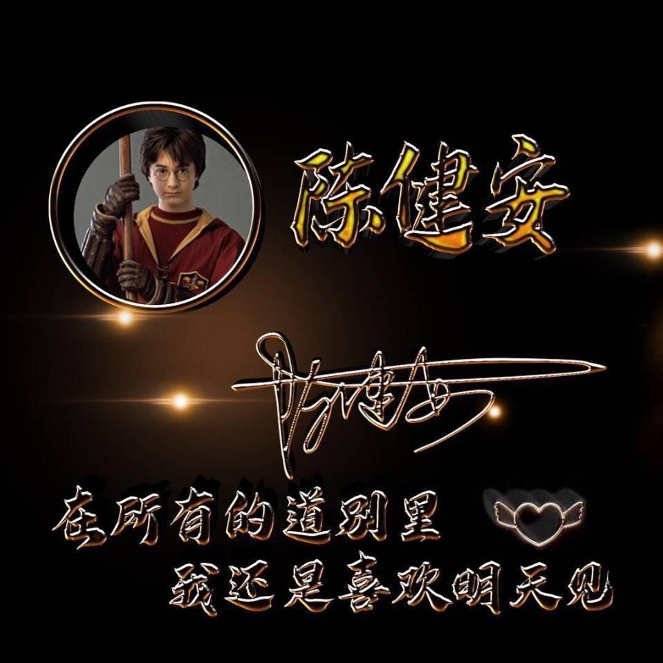 微信好友陈健安的签名头像